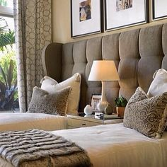 """""""Wow! This is a great approach to twin beds. Perfect for a guest room! EGYPT SHERROD"""