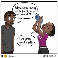 #Repost @ghanaba_ with @repostapp ・・・ I would need more painkillers if it was a…