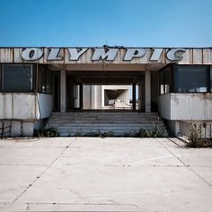 Athens Ellinikon International Airport (closed since European Airlines, Desert Places, Quelques Photos, International Airport, Greece Travel, Athens, Olympics, Abandoned, Street Art