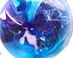Glitter slime // galaxy nebula slime // stretchy slime // sensory toy // desk toy // stress ball // party favor