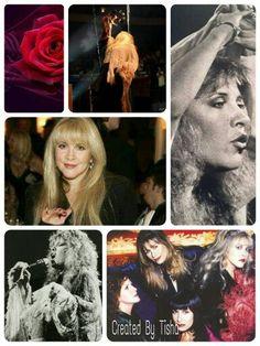 Stevie Nicks Collage Created By Tisha 09/05/15