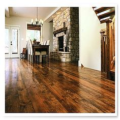 Beautiful Reclaimed Wood Floors (Outdoor Wood Floor)