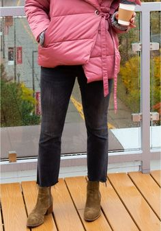 4ce8e7b6a4f7 Bright fun pink puffer coat to keep you warm for the winter. From The  Wardrobe