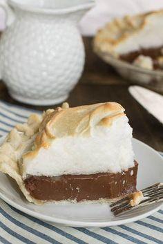 Old-Fashioned Chocolate Meringue Pie