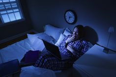 Get better sleep tonight by shutting down all your electronics AT LEAST 2 hours before  bedtime. Find out what else could be keeping awake!