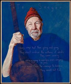 May Pete Seeger Born - Zinn Education Project Loretta Lynn Songs, American Folk Music, Pete Seeger, Tell The Truth, Country Music, Country Singers, My Music, Music Stuff, Singing