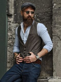 Classy outfit, hipster looks, hipster man, hipster fashion, hipster beard. Modern Hipster, Hipster Looks, Hipster Man, Hipster Fashion, Hipster Style, Hipster Beards, Hipster Outfits Men, Fashion Black, Fashion Fashion