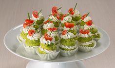 Baci di dama salati tricolore