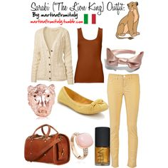 """""""Sarabi (The Lion King) Outfit"""" by martinafromitaly on Polyvore"""