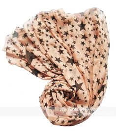 Pink Stars Scarf H&M (similar) $13. Used gift card.