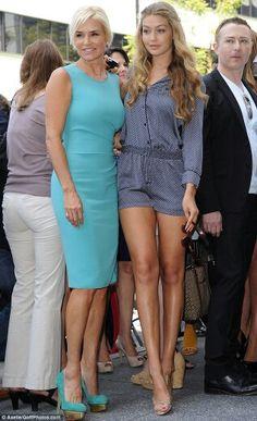 Yolanda Foster and her daughter Gigi Hadid