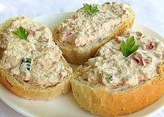 Chrzanowa pasta z tuńczyka