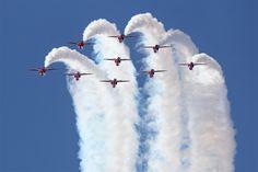 The Red Arrows by namelessfaithlessgod.deviantart.com on @deviantART