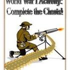 $2.50. This activity is fantastic in regard to concluding a WWI Unit! The activity is research-based.