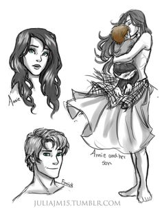 Hunger Games - Finnick Odair x Annie Cresta - Finnie The Hunger Games, Hunger Games Catching Fire, Hunger Games Trilogy, Finnick And Annie, Katniss And Peeta, Geeks, Hunter Games, I Volunteer As Tribute, Suzanne Collins