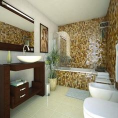 Small Bathroom Design Photo With Bathtub