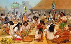 Tiangui azteca