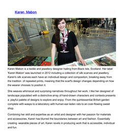 contemporary textile prints designer research.
