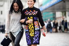 On the Streets of London Fashion Week Spring 2015
