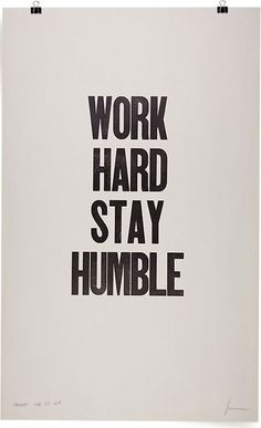 Inspirational Quotes about Work : Work hard stay humble // In need of a detox? Get 10% off your teatox using our