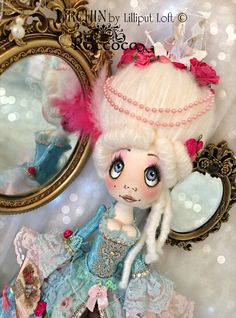 Urchin Roccoco art doll by Vicki @ Lilliput Loft