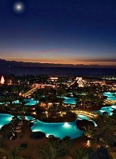 Nuevo Resort at night