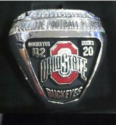 Ohio State Football National Championship Ring ... 2015