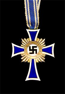 On August 12, 1938, Adolph Hitler introduced the Mother's Cross as an incentive for German women to produce as many children for the Third Reich as possible.