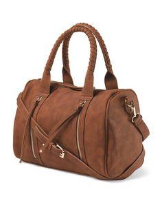 Jericka Woven Handles Satchel Just In T J Ma Handbags Purses And