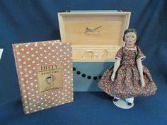 """Hitty """"The Heirloom Collectors Set"""" by Michael Langton, complete, mint, VHTF"""