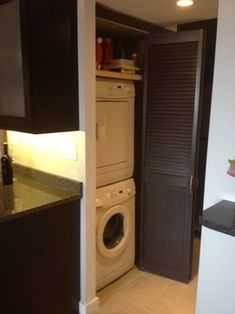 "Receive terrific tips on ""laundry room stackable washer dryer"". They are actually offered for you on our web site. Basement Storage, Laundry Room Organization, Closet Storage, Laundry Rooms, Organizing, Small Storage, Diy Storage, Storage Spaces, Stackable Washer And Dryer"