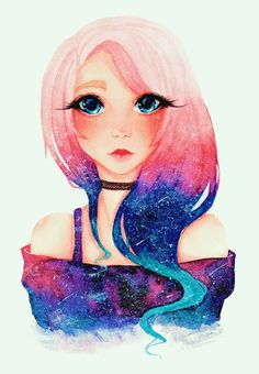 Pin by natural unicorn on wengie in 2019 Pretty Drawings, Cool Art Drawings, Amazing Drawings, Easy Drawings, Girl Drawings, Cartoon Girl Drawing, Cartoon Drawings, Ldshadowlady Fan Art, Youtube Drawing