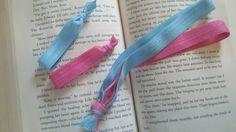 Headband and Hair Tie Set. $5.00, via Etsy.