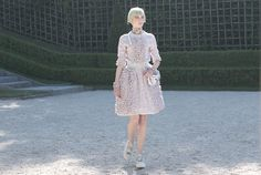 My Favorite Looks / Chanel | Garance Doré... lovely dress from Chanel Cruise 2012/13 Collection.