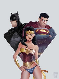 Justice League by Edouard Relou www.edouardrelou.eu