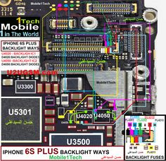 Iphone 6s Lcd Display Light Ic Solution Jumper Problem Ways Jumper