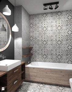 Bathroom Renovation Ideas you need to know [Complete!]- Bathroom Renovation Ideas you need to know (Complete!) Bathroom Renovation Ideas you need to know (Complete! Wood Bathroom, Grey Bathrooms, Bathroom Layout, Bathroom Flooring, Beautiful Bathrooms, Bathroom Interior, Modern Bathroom, Master Bathroom, Bathroom Ideas