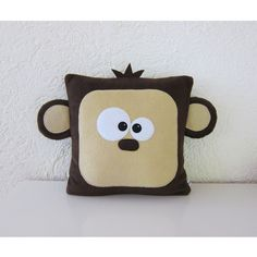 Kissen - ♥ Monkey ♥ - ein Designerstück von KuschelICH bei DaWanda