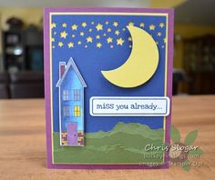 Confetti Stars and Holiday Home, Stampin' Up!