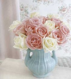 Sentimental Favorite -valentine ideas  If your sweetheart collects vases, pitchers, or bowls, then using one of these treasured objects will make even a simple rose bouquet a sentimental favorite