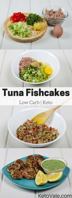 Keto Tuna Fishcakes Recipe- These tuna fishcakes are so fragrant and delicious and you will want to make it again and again.