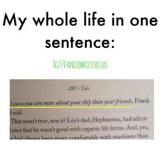 what book is this someone please>> In answer to your questions it is Percy Jackson and The Olymplians<< actually it's the second series Heroes of Olympus. I'm pretty sure it's the third book, Mark of Athena Percy Jackson Memes, Percy Jackson Fandom, Percy Jackson Books, Solangelo, Percabeth, Book Memes, Book Quotes, Hunger Games, Jorge Ben