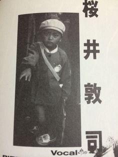 ボーカル:櫻井敦司(さくらいあつし)の幼少期 : 【BUCK-TICK】メンバー幼少期の写真。櫻井敦司、今井寿、星野英彦、樋口豊、ヤガミトール - NAVER まとめ