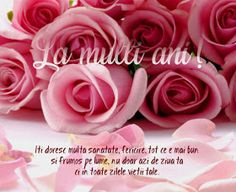 Versete de Aur : La mulți ani! Happy Birthday Wishes, Tatting, Diy And Crafts, Burlap, Birthdays, Lily, Album, Flowers, Cards