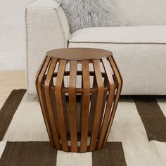 Bentwood Side Table | west elm - settee side table