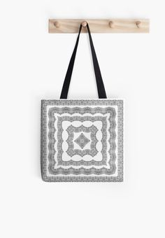 Square ornaments on white background. • Also buy this artwork on bags, apparel, stickers, and more.