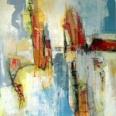 Acrylic/graphite on canvas. Original Painting