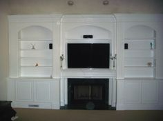 fireplace built ins picture gallery | Fireplace Built in » Custom Home Finish