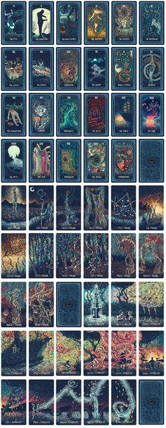The Prisma Visions Tarot by James R. Eads — Kickstarter #tarotcardsart