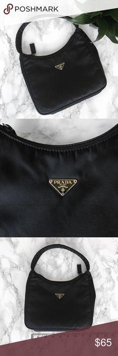 • Vintage Prada Mini Nylon Handbag • Vintage Prada mini nylon handbag in excellent condition - no flaws. Prada Bags Mini Bags